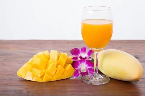 nutritional value of mango juice