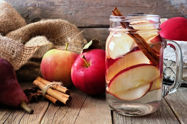 apple cinnamon detox water recipe