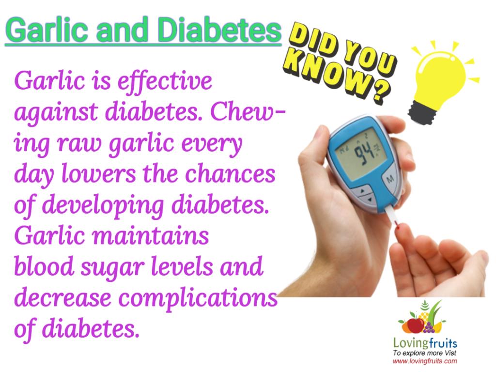 garlic and diabetes