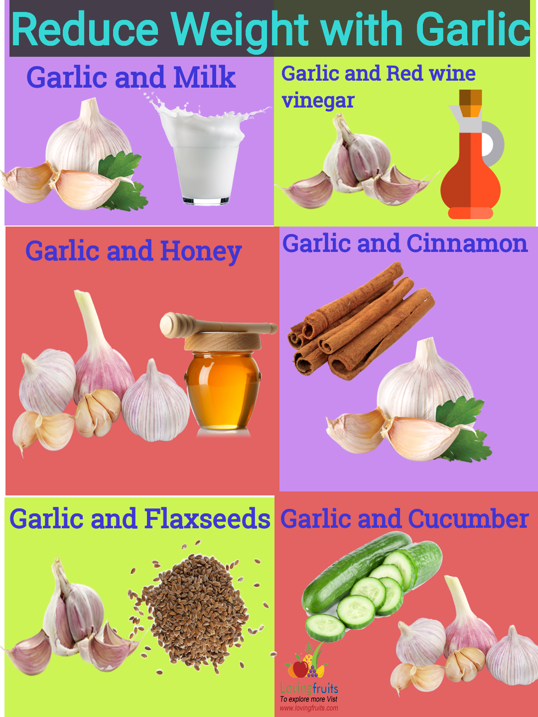 honeyand garlic for weight loss