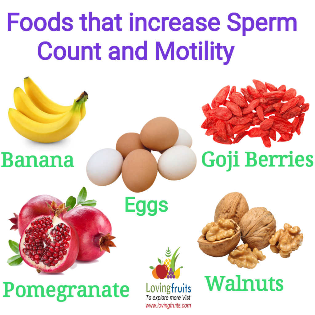 Natural ways to incrase sperm production